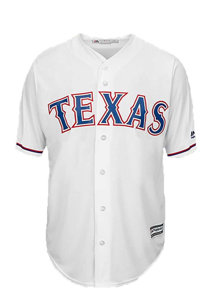 Cole Hamels 35 Texas Rangers Mens White Player Replica Jersey - Image 2