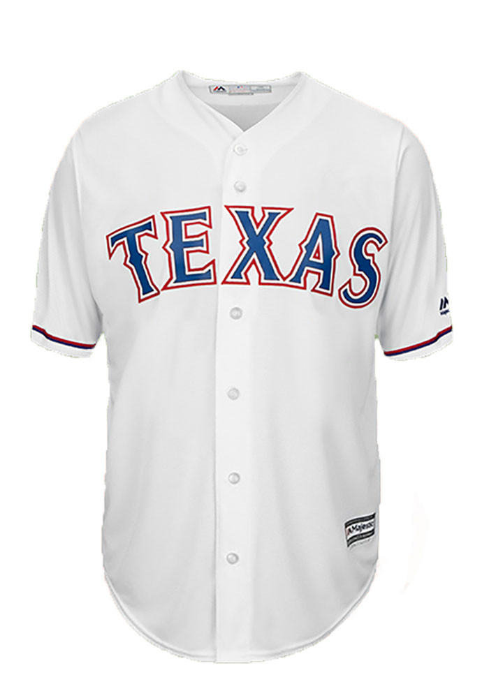 Colby Lewis 48 Texas Rangers Mens White Player Replica Jersey - Image 2