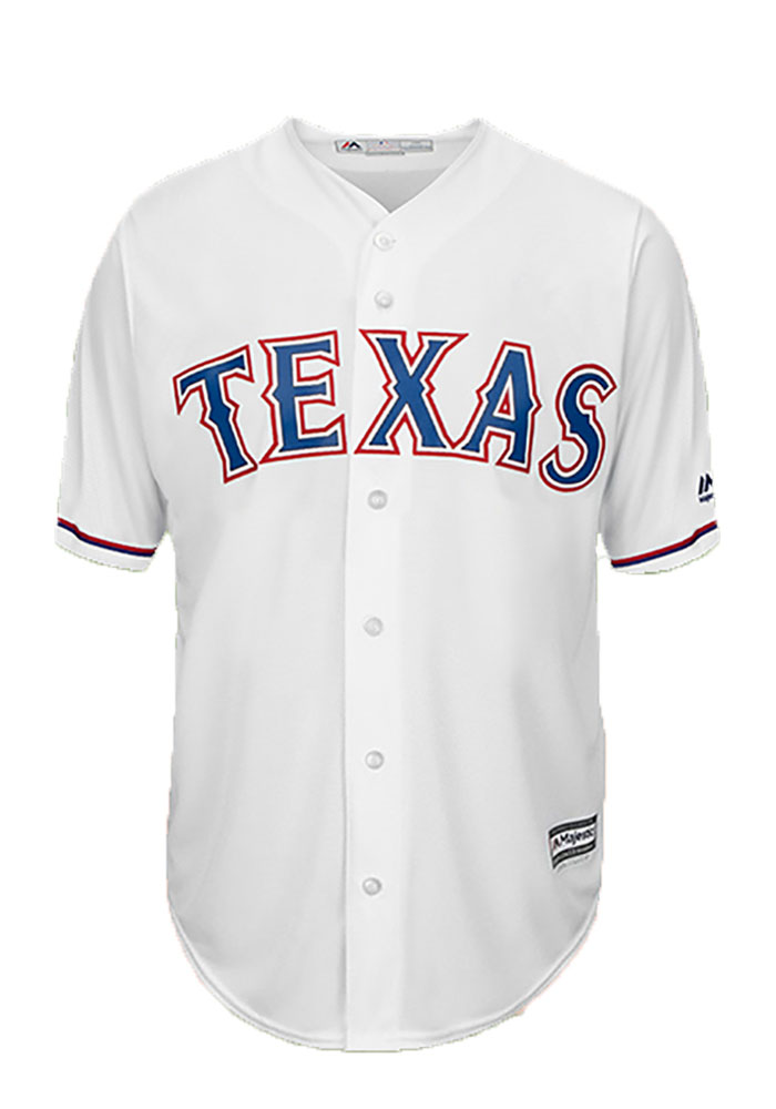 Shawn Tolleson 37 Texas Rangers Mens White Player Replica Jersey - Image 2