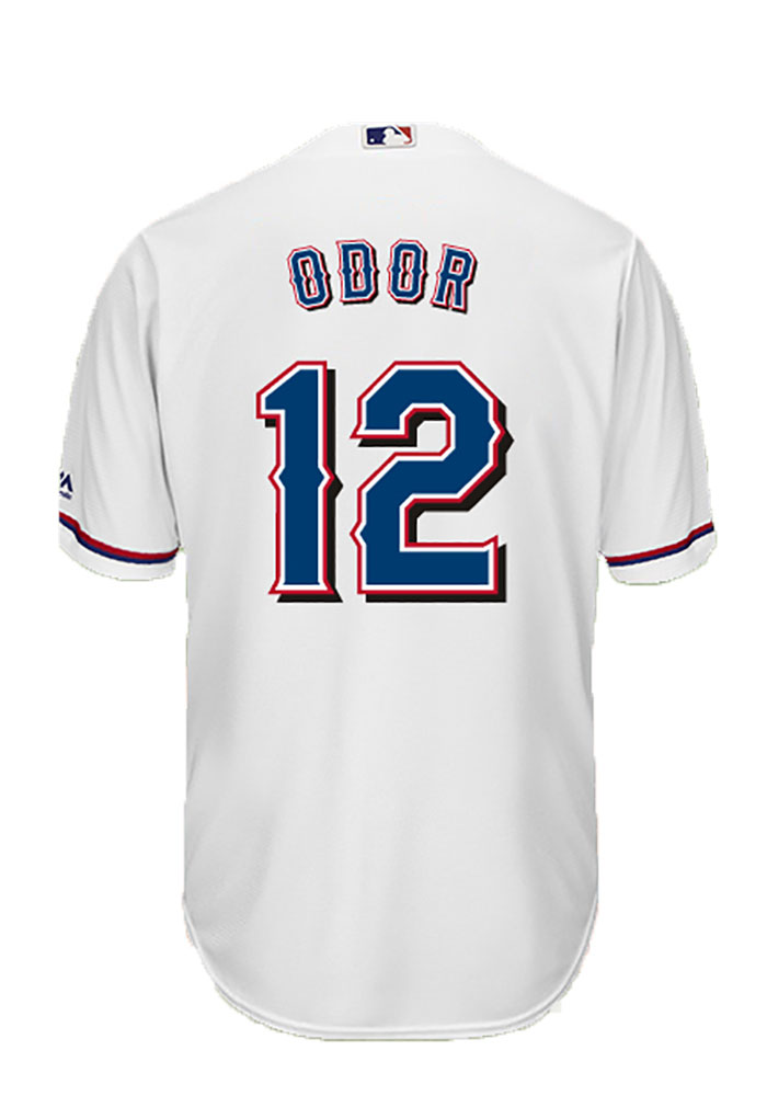 Rougned Odor 12 Texas Rangers Mens White Player Replica Jersey - Image 1