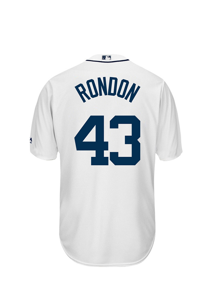 Bruce Rondon 43 Detroit Tigers Mens White Player Replica Jersey - Image 1