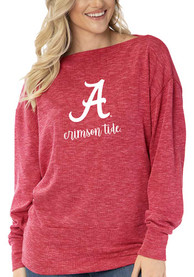 Alabama Crimson Tide Womens Lainey Tunic T-Shirt - Red