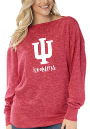 Indiana Hoosiers Womens Lainey Tunic T-Shirt - Red