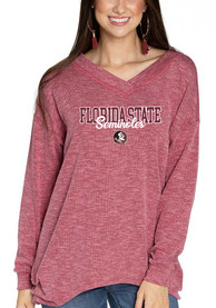 Florida State Seminoles Womens Bailey T-Shirt - Red