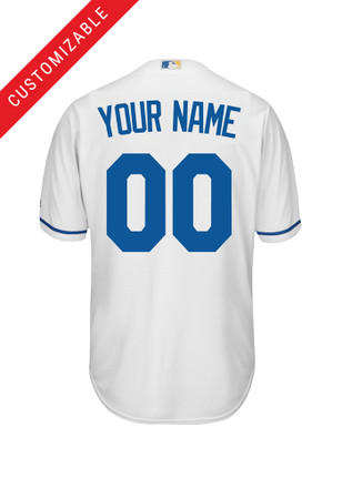 Kansas City Royals Kids White Home Baseball Jersey