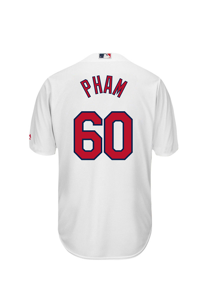 STL Cardinals White Tommy Pham Replica Jersey - Image 1