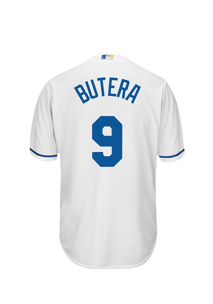 Drew Butera 9 Kansas City Royals Mens White Player Replica Jersey - Image 1