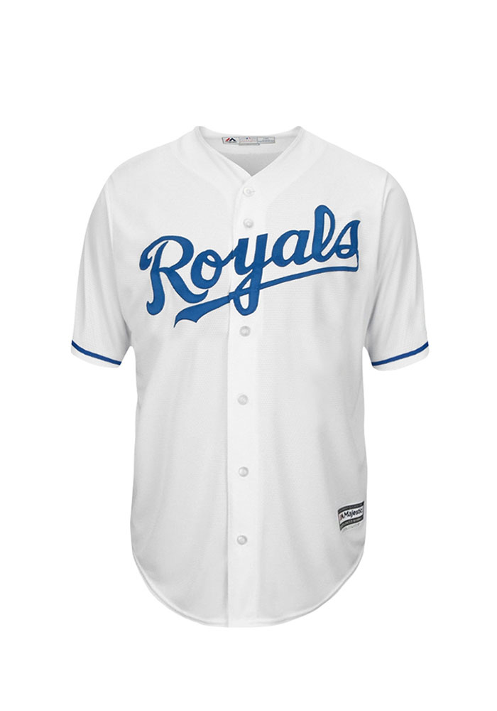Drew Butera 9 Kansas City Royals Mens White Player Replica Jersey - Image 2