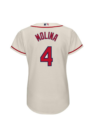 Yadier Molina STL Cardinals Womens Player Replica Jersey