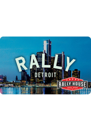 Gift Card Detroit Skyline