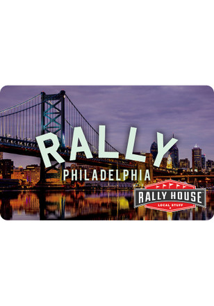 Gift Card Philadelphia Skyline