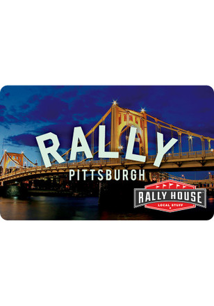 Gift Card Pittsburgh Skyline