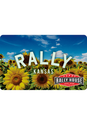 Gift Card Kansas Sunflower