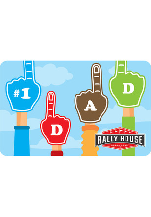 Rally House Father's Day Gift Card