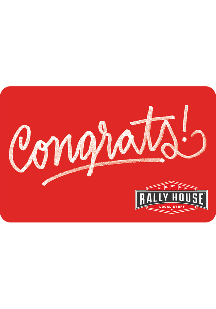 Rally House Congratulations Gift Card - Image 1