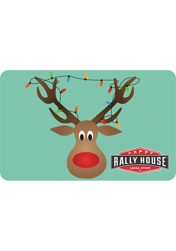 Rally House Reindeer Gift Card - Image 1