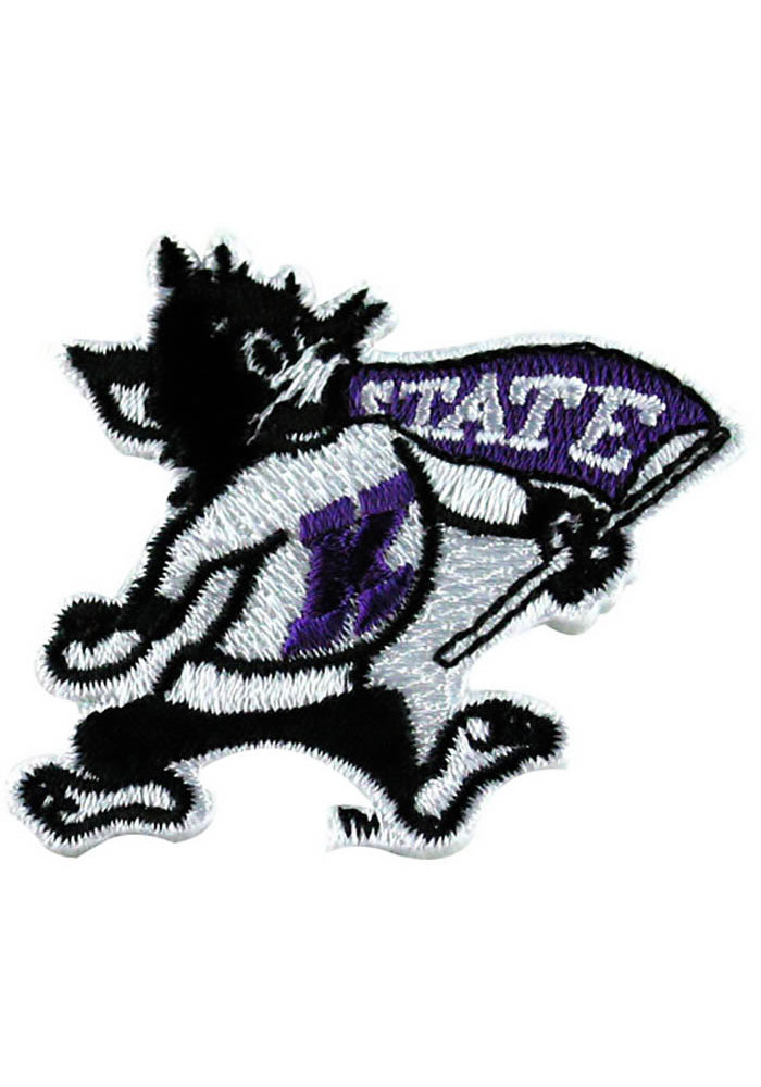 K-State Wildcats 2.75 Inch Patch - Image 1