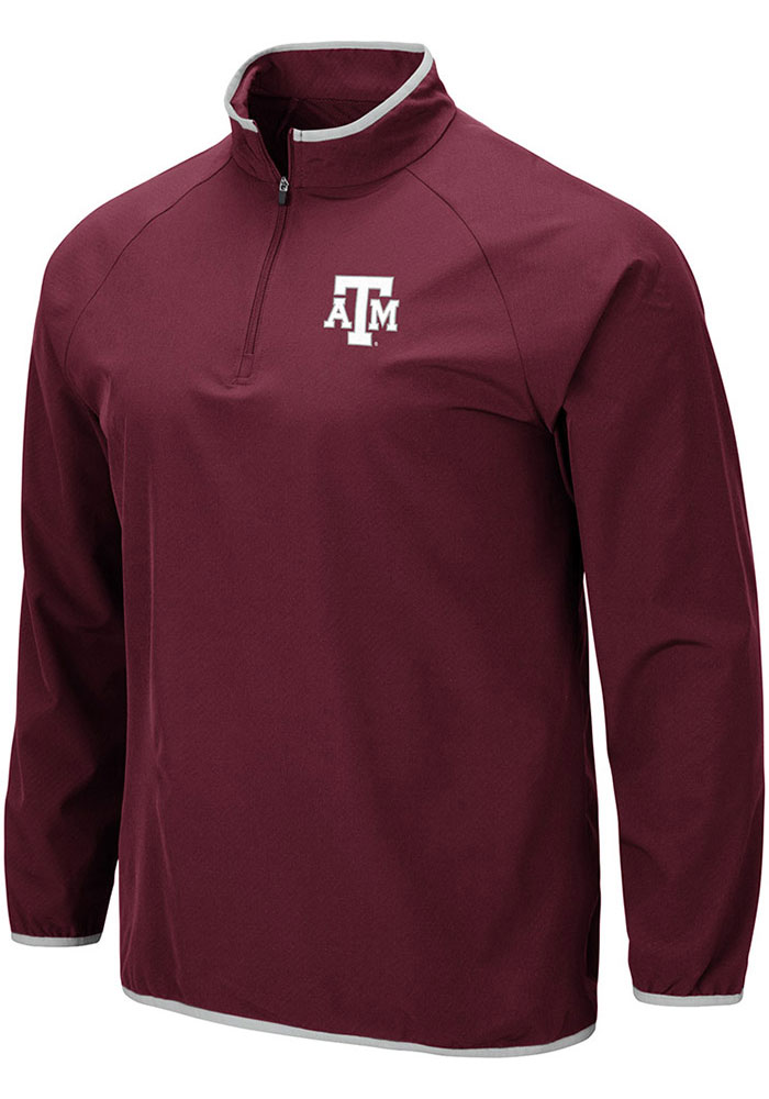 Colosseum Texas A&M Aggies Maroon Chalmers 1/4 Zip Pullover