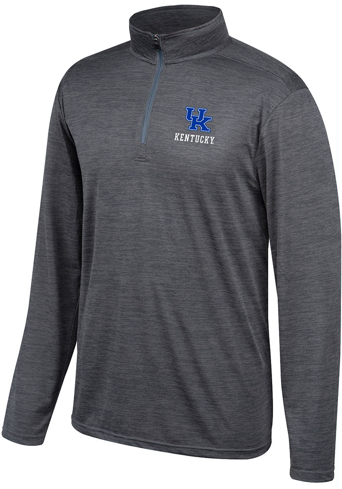 Top of the World Kentucky Wildcats Grey Chrome 1/4 Zip Pullover