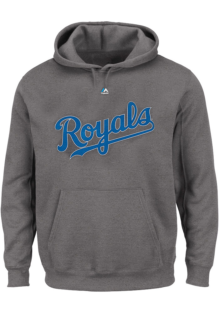 Kansas City Royals Grey Team Hooded Sweatshirt