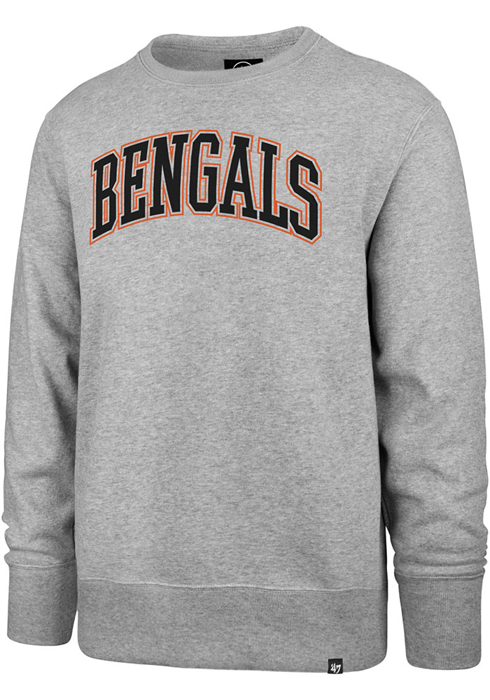 '47 Cincinnati Bengals Grey Arch Outline Headline Sweatshirt