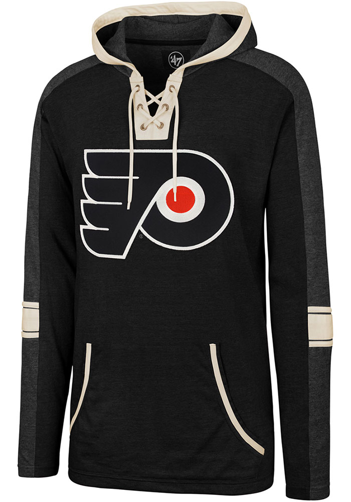 '47 Philadelphia Flyers Tahoe Lace Up Black Fashion Hood