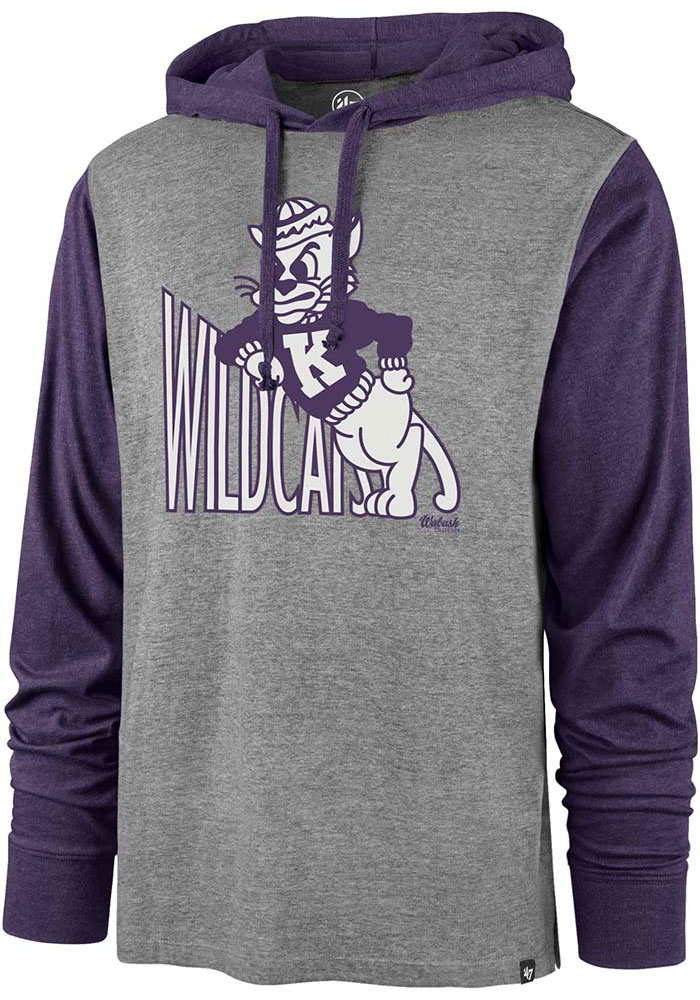 '47 K-State Wildcats Imprint Callback Grey Fashion Hood