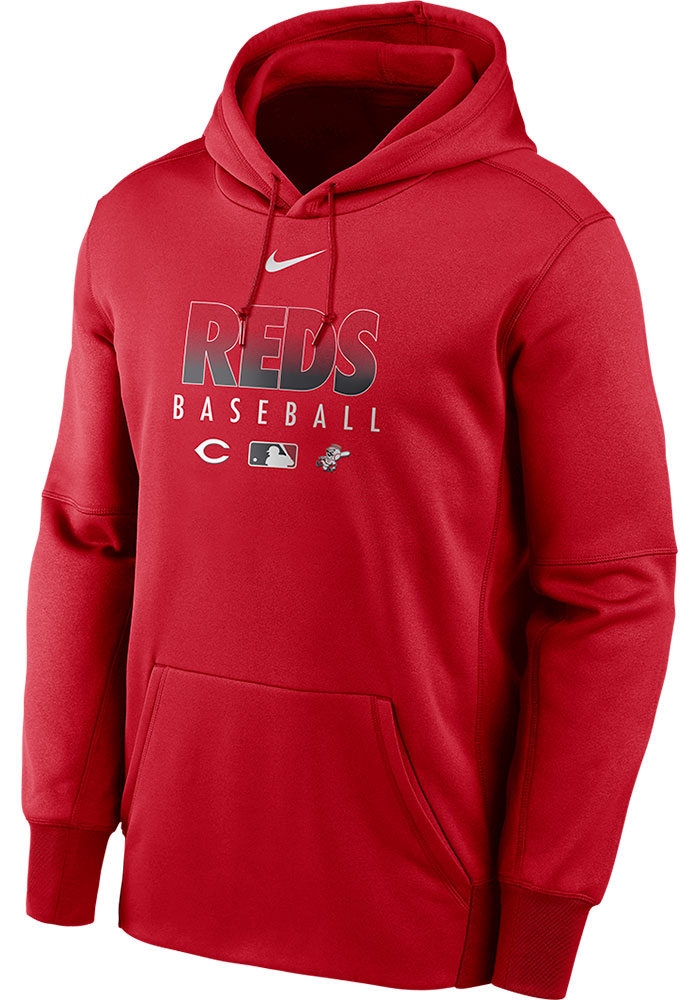 Cincinnati Reds Authentic Therma Hood