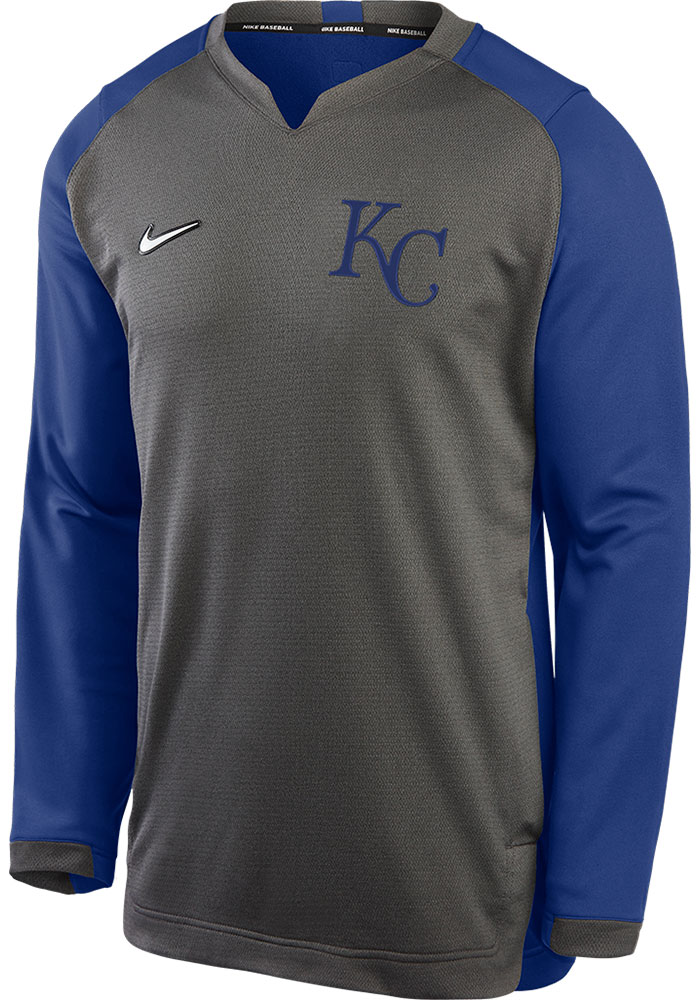 Kansas City Royals Grey Authentic Thermal Sweatshirt