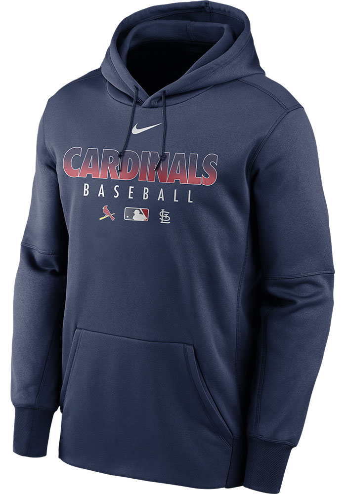 St Louis Cardinals Authentic Therma Hood