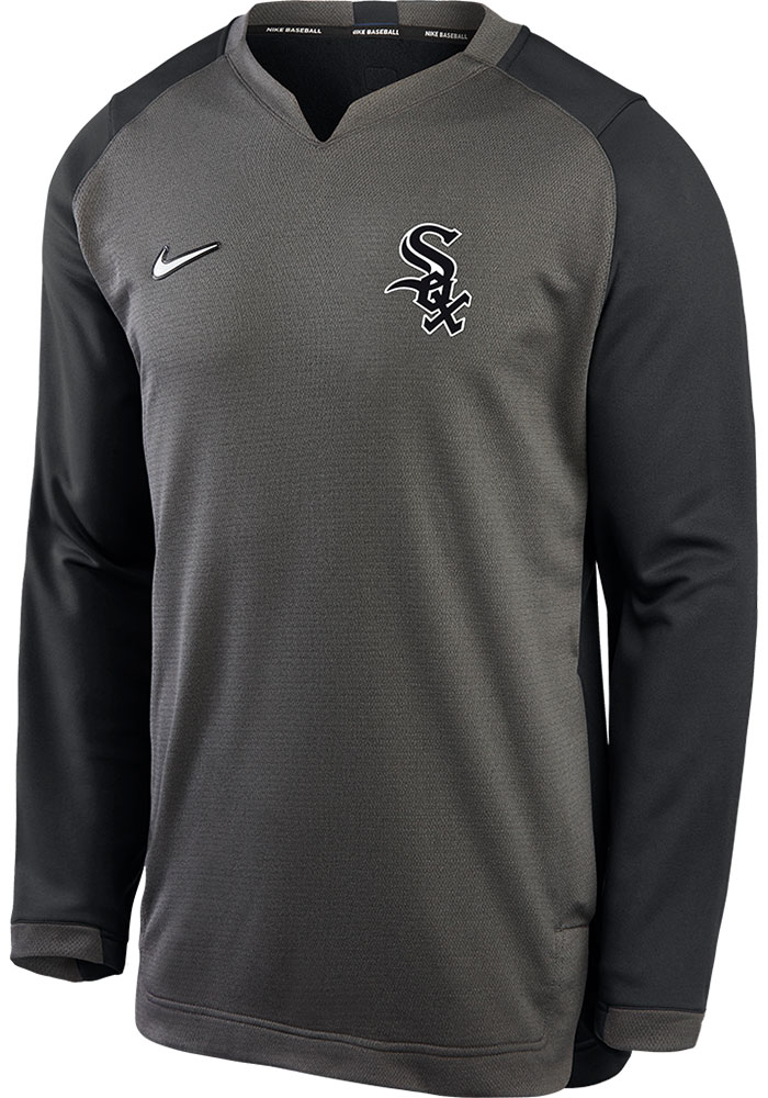 Nike Chicago White Sox Grey Authentic Thermal Sweatshirt