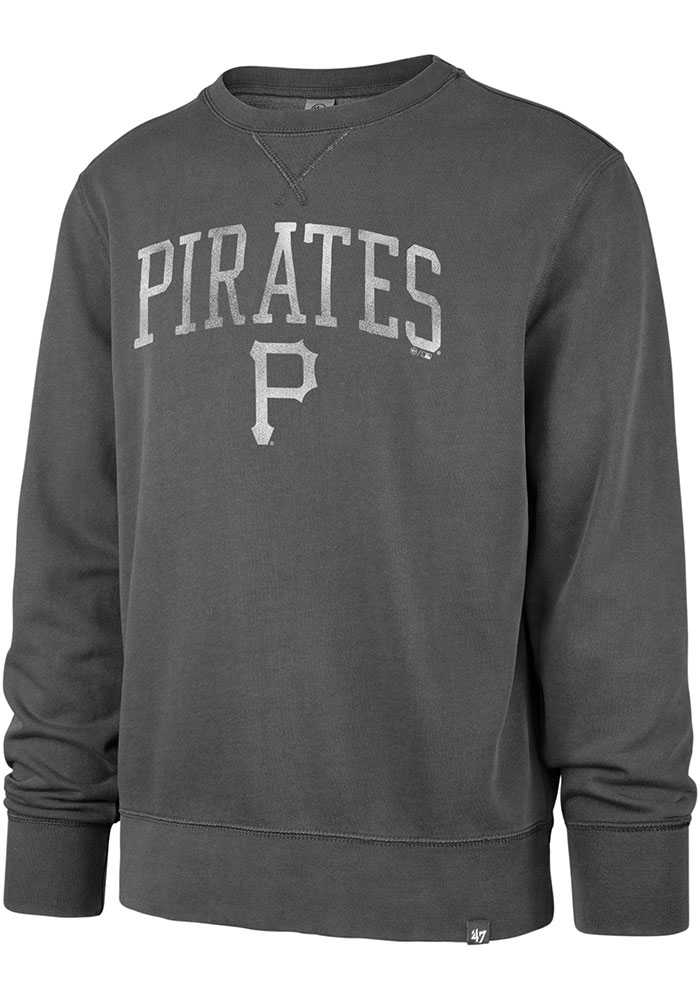 '47 Pittsburgh Pirates Black Hudson Fashion Sweatshirt