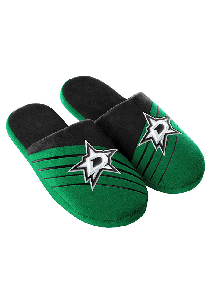 Dallas Stars Big Logo Mens Slippers