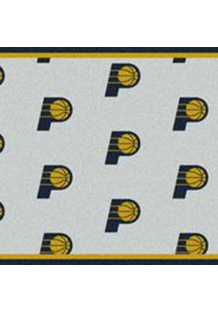 Indiana Pacers 10x13 Repeat Interior Rug