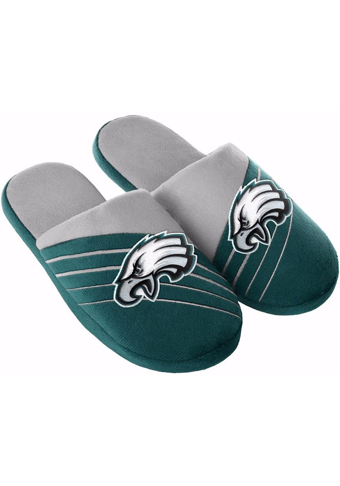 Philadelphia Eagles Big Logo Mens Slippers