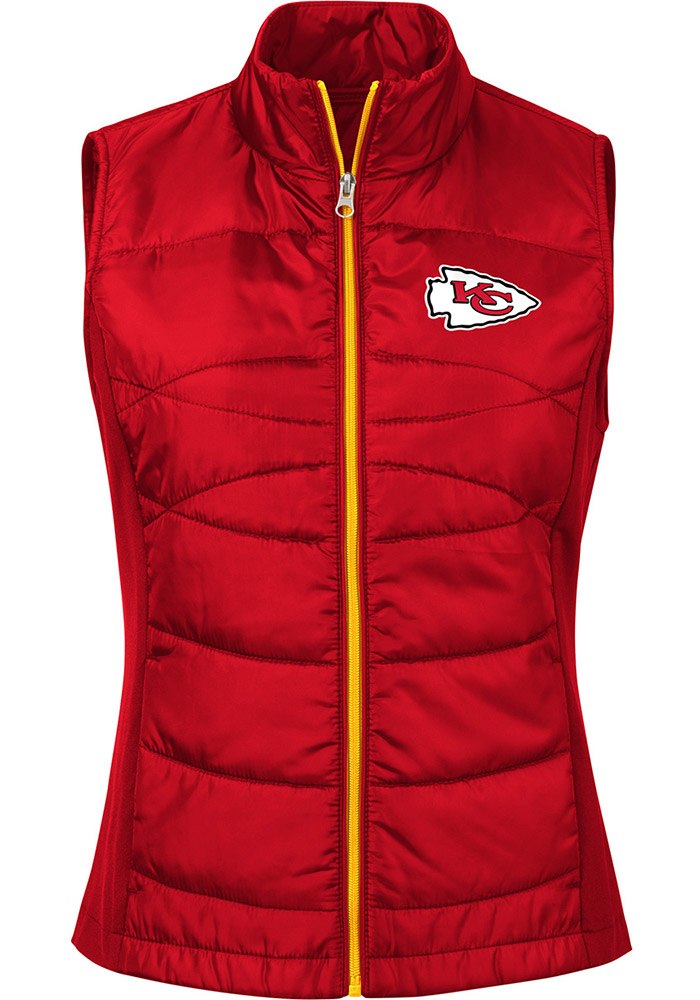 Kansas City Chiefs Womens Red Wing Back Vest