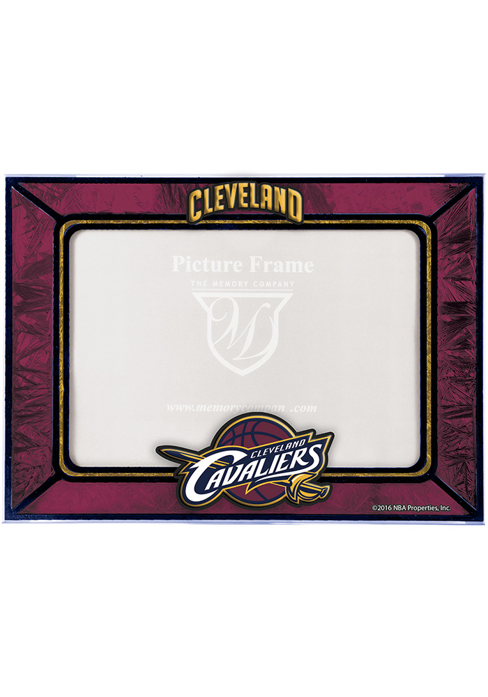 Cleveland Cavaliers 4x6 Art Glass Horizontal Picture