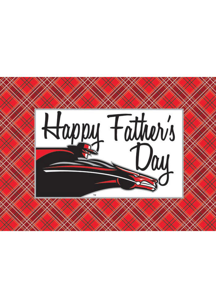 Texas Tech Red Raiders Fathers Day Card