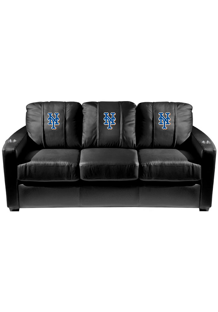 New York Mets Mlb Silver Sofa Sofa