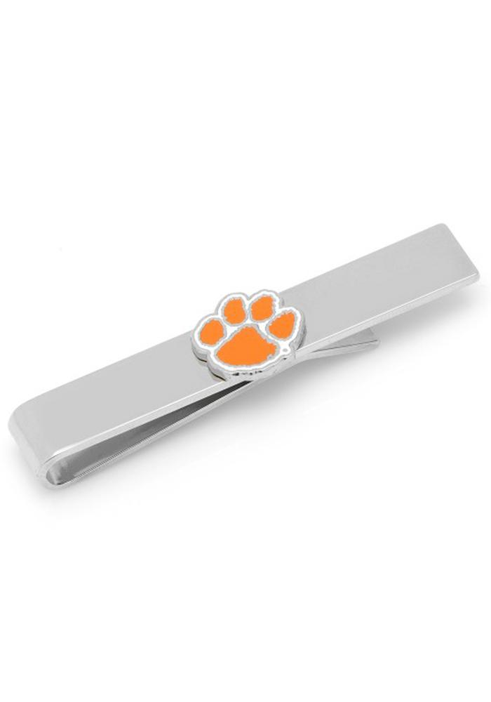 Clemson Tigers Silver Plated Mens Tie Tack