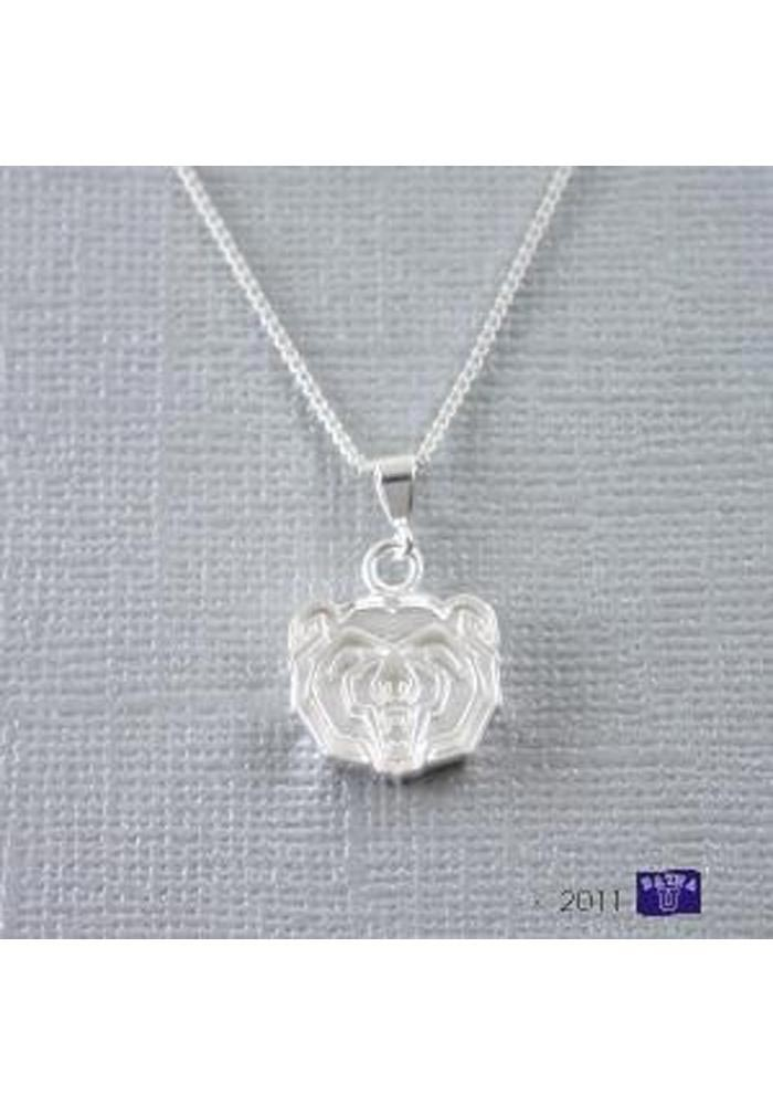 Missouri State Bears Silver Charm Necklace