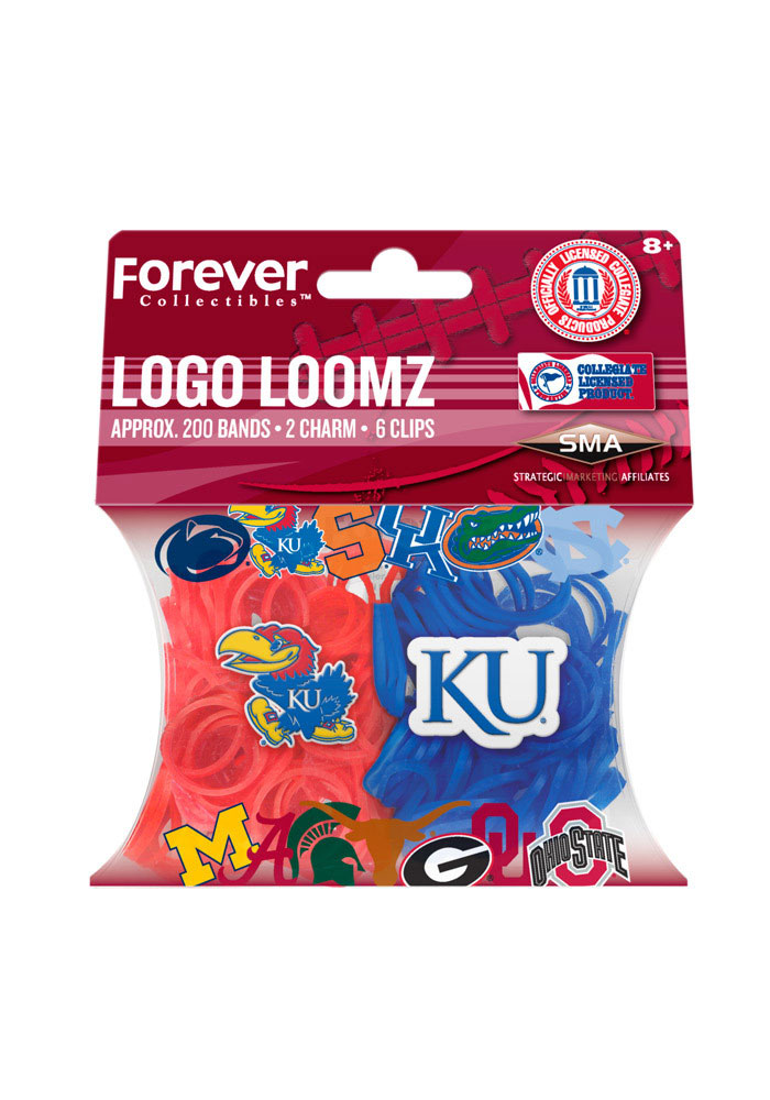 Kansas Jayhawks Logo Loomz Toy Jewelry