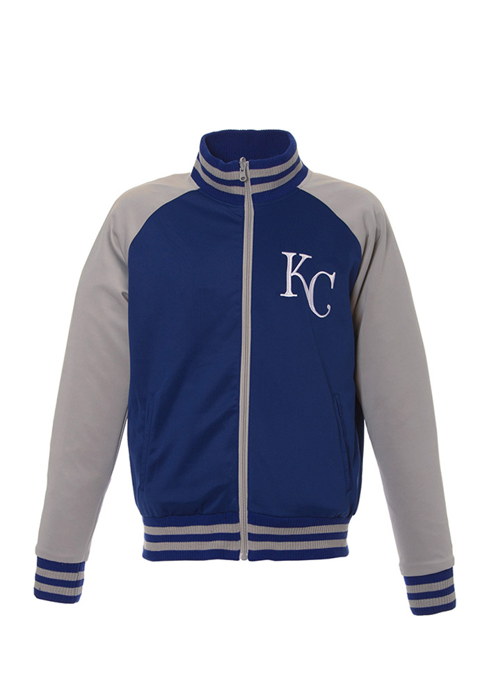 Kansas City Royals Mens Blue Reversible Track Jacket