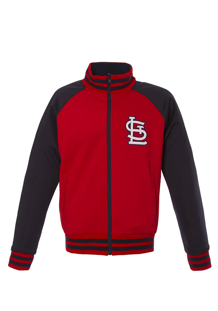 St Louis Cardinals Mens Red Reversible Track Jacket