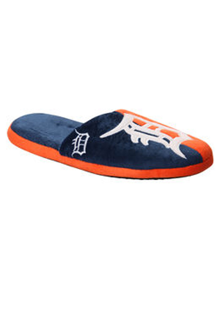 Detroit Tigers Split Color Slide Mens Slippers