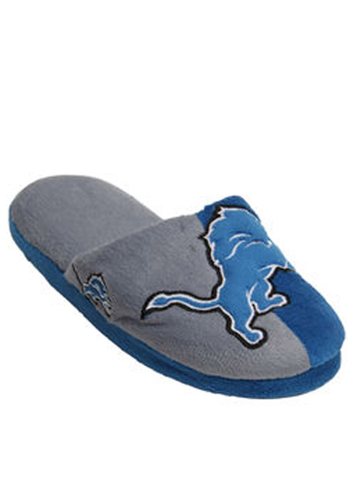 Detroit Lions Split Color Slide Mens Slippers