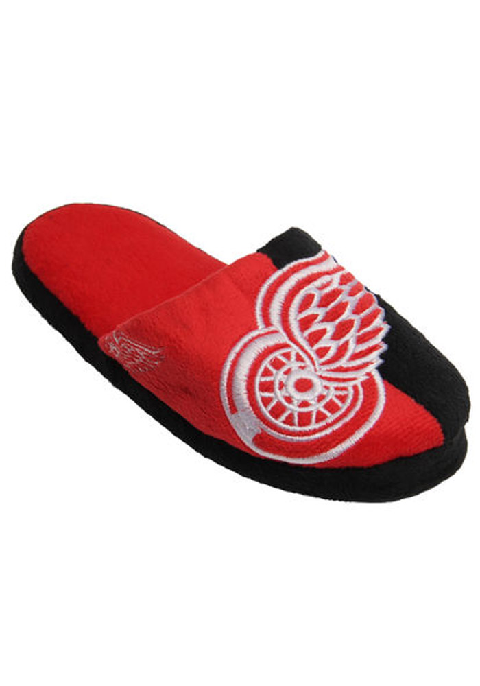 Detroit Red Wings Split Color Slide Mens Slippers