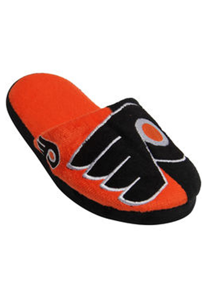 Philadelphia Flyers Split Color Slide Mens Slippers