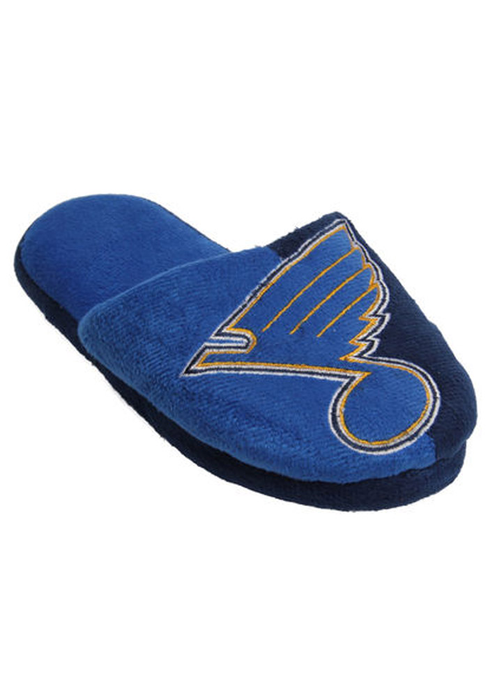 St Louis Blues Split Color Slide Mens Slippers