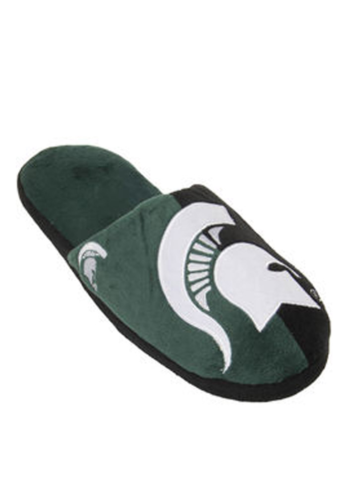 Michigan State Spartans Slipt Color Slide Mens Slippers